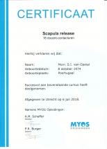 Scapula release